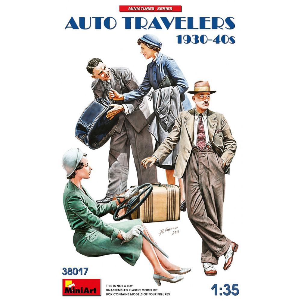 AUTO TRAVELERS 1930-40S 1/35 MiniArt 38017