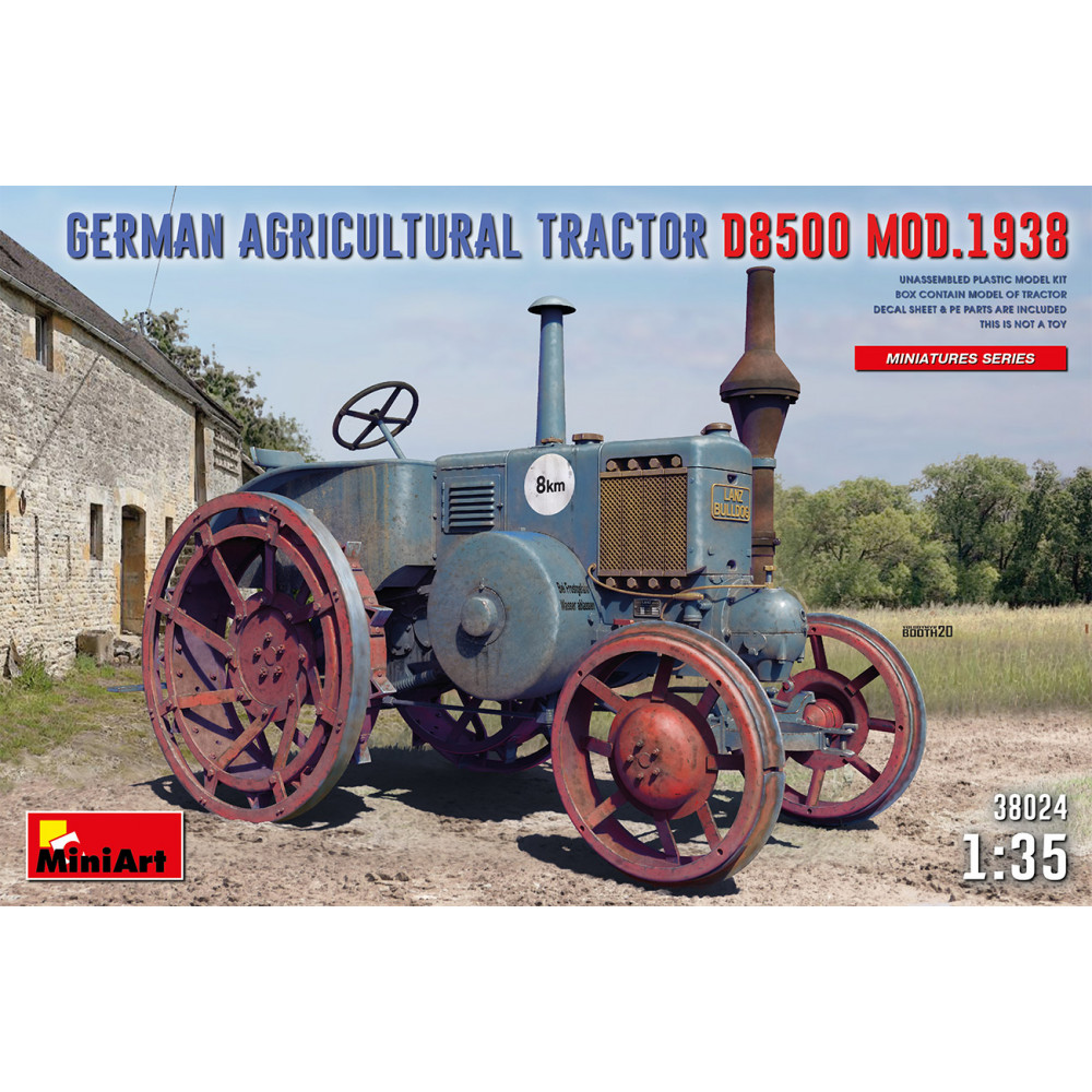 German agricultural tractor D8500 mod. 1938 1/35 MiniArt 38024