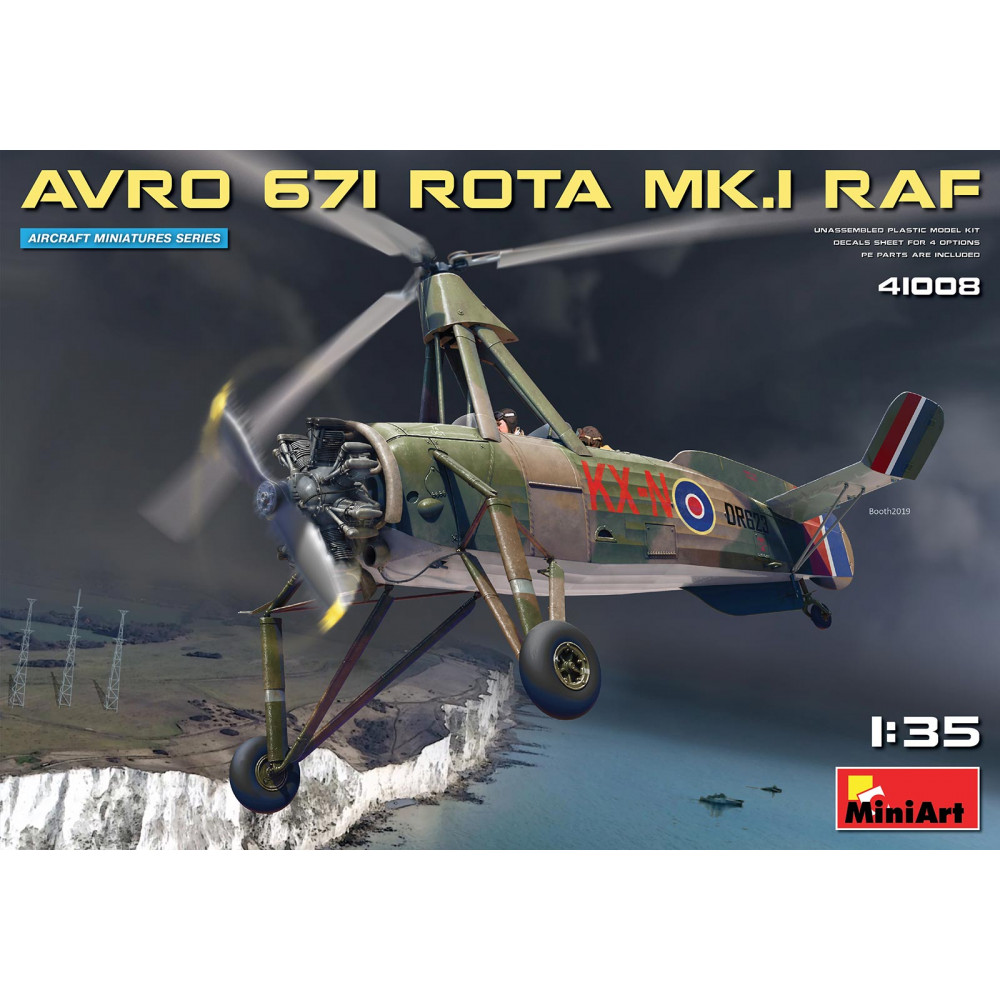 AVRO 671 ROTA MK.I RAF 1/35 MiniArt 41008