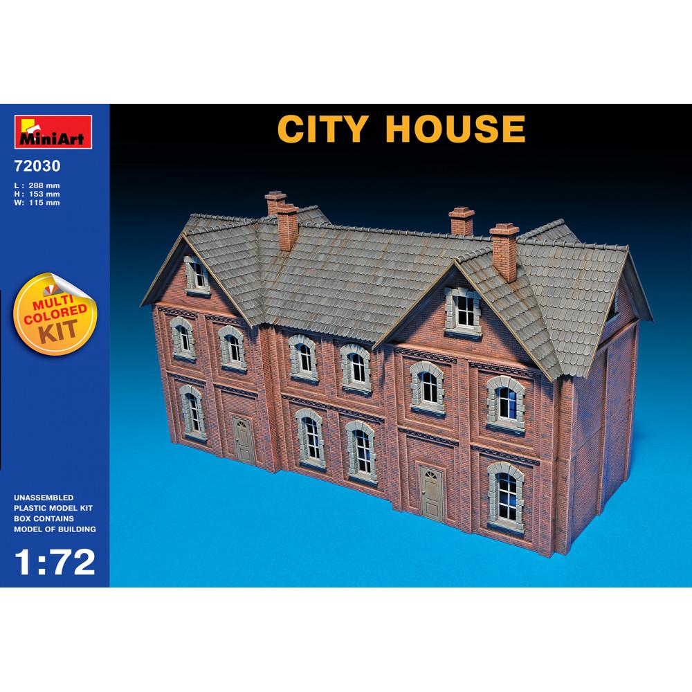 City house  1/72 MiniArt 72030