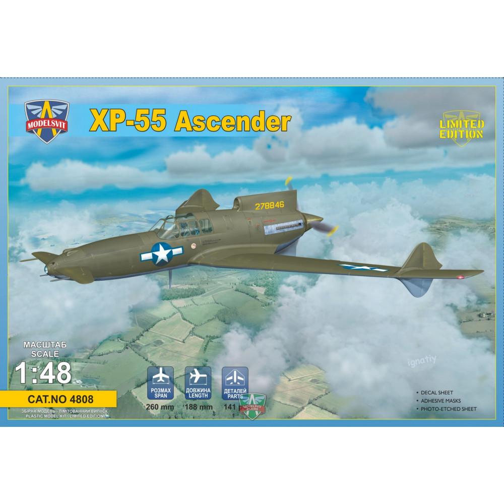 XP-55 Ascender (re-release) 1/48 Modelsvit  4808