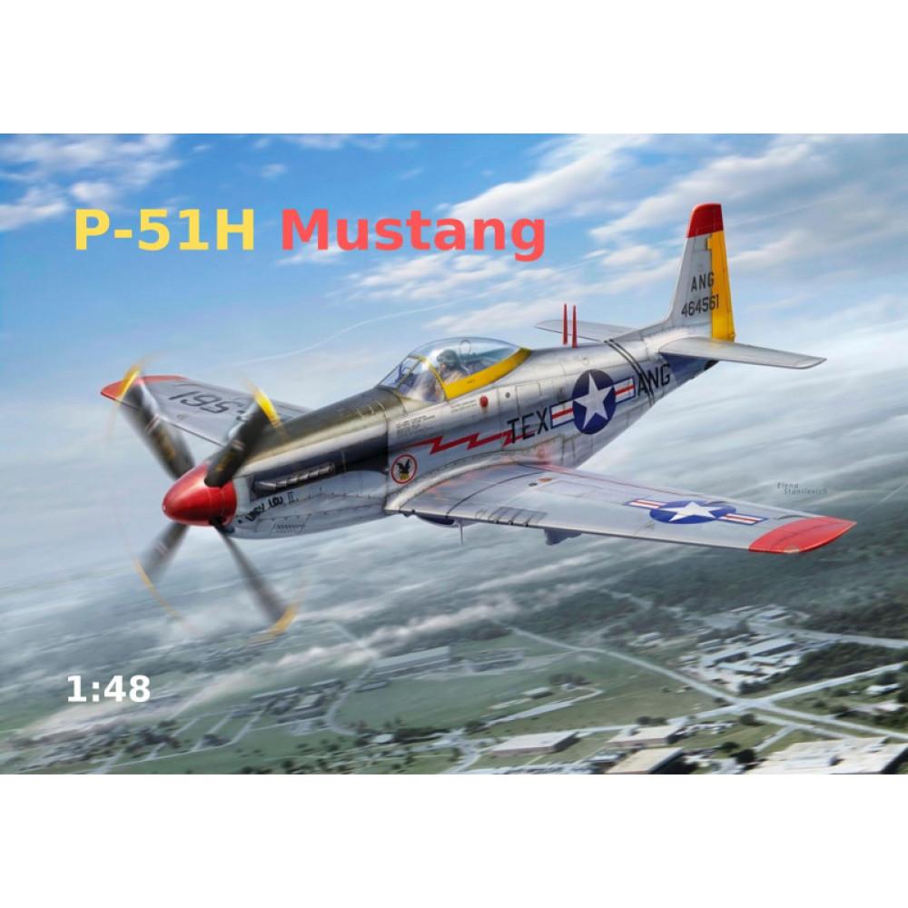 Mustang P-51H 1/48 ModelSvit 4817