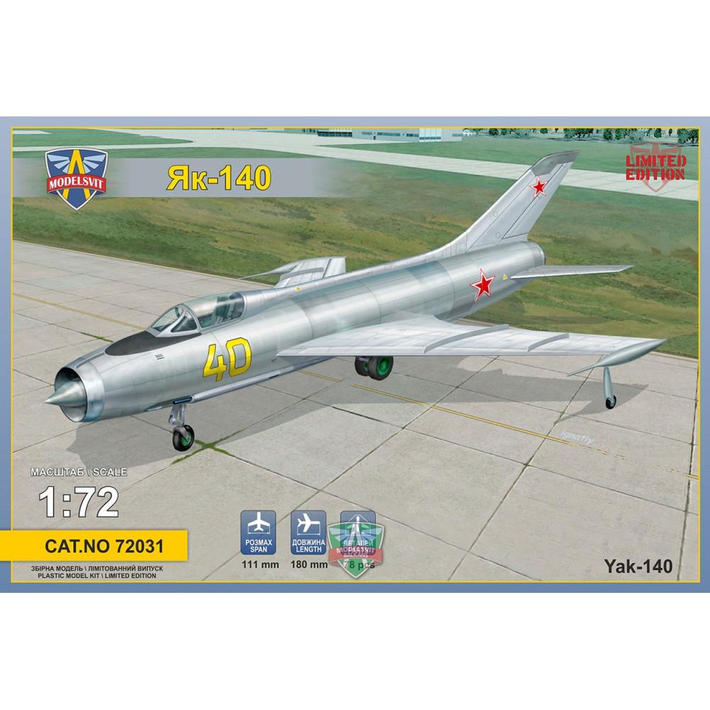 Yak-140 Prototype 1/72 Modelsvit  72031