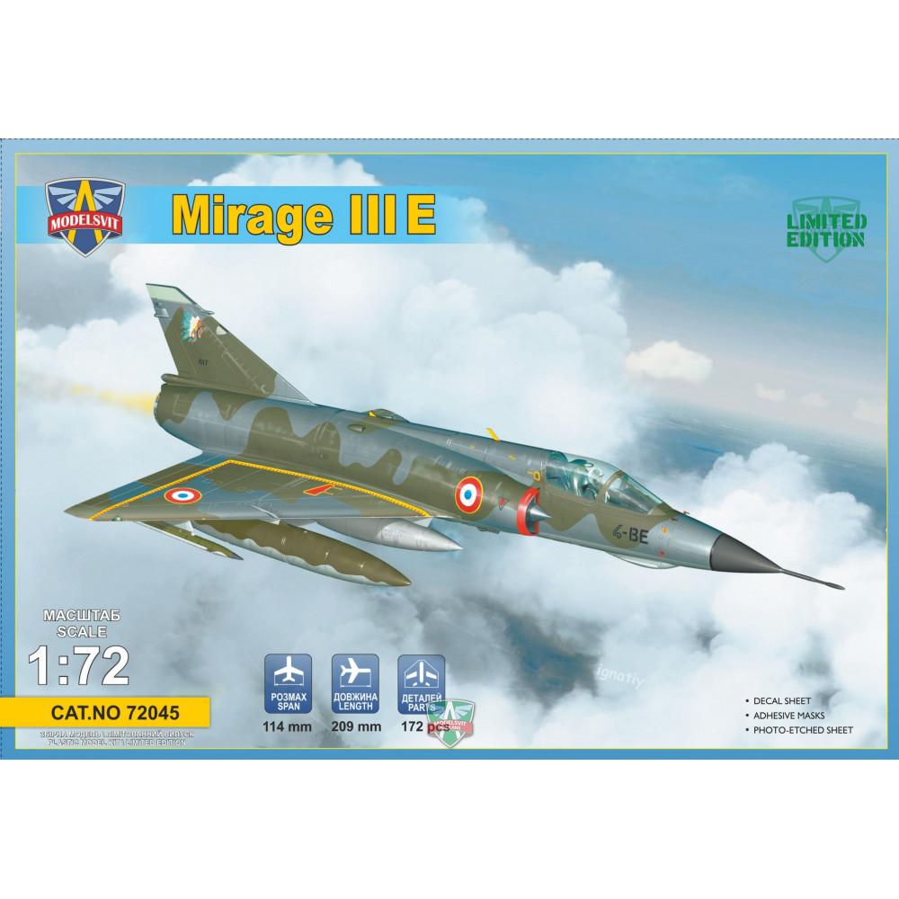Mirage IIIE fighter-bomber 1/72 Modelsvit  72045
