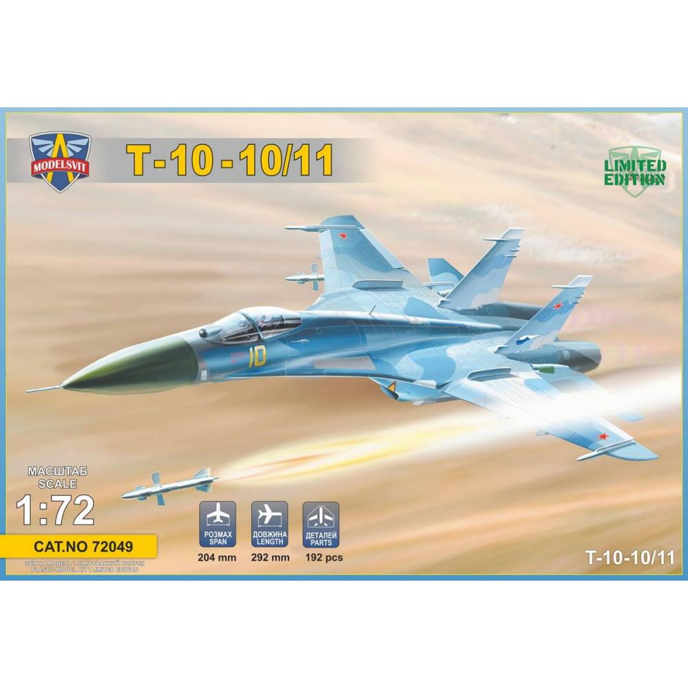 FRONT ENFORTER T-10-10 / 11 1/72 ModelSvit 72049