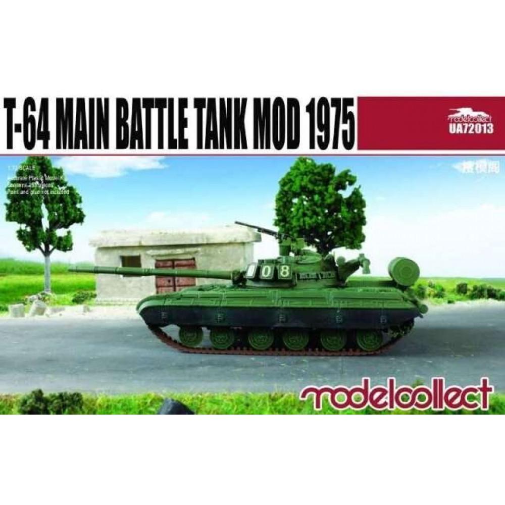 T-64B Main Battle Tank Mod 1975 1/72 Modelcollect  72013