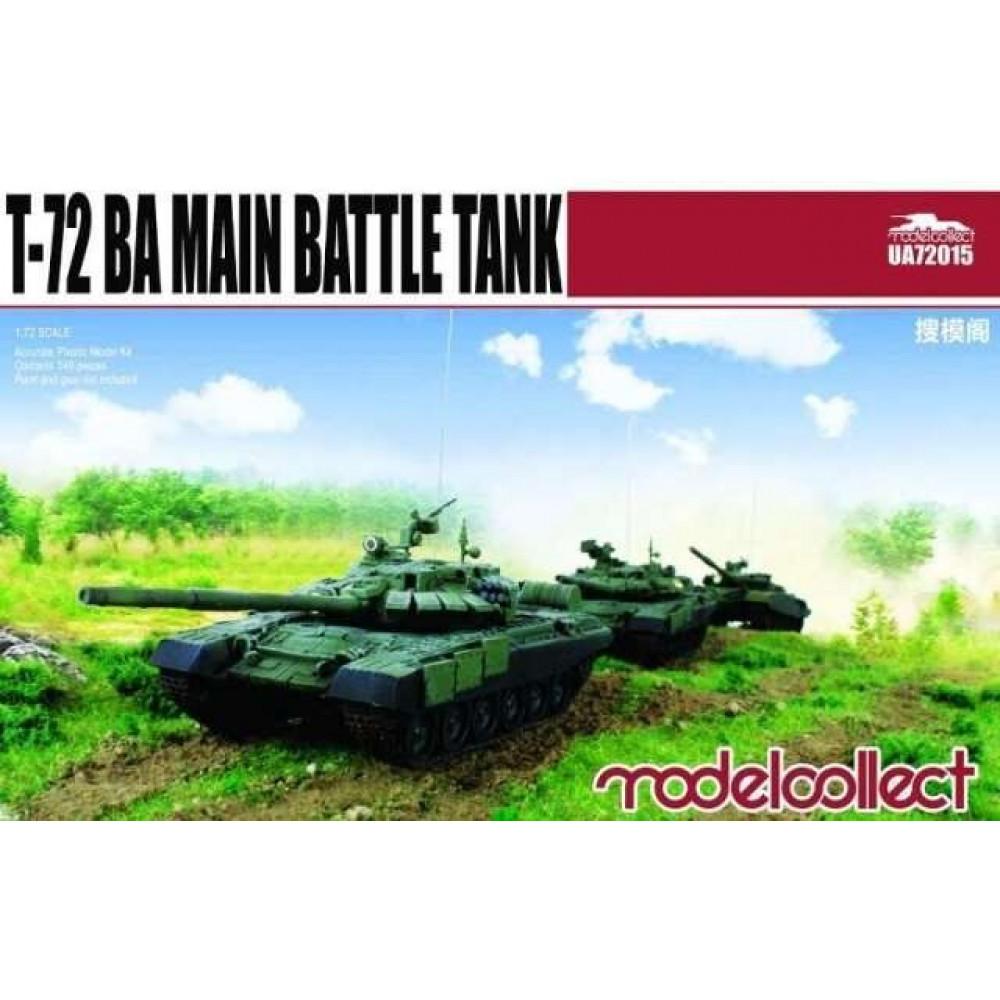 T-72 BA Main battle tank 1/72 Modelcollect  72015