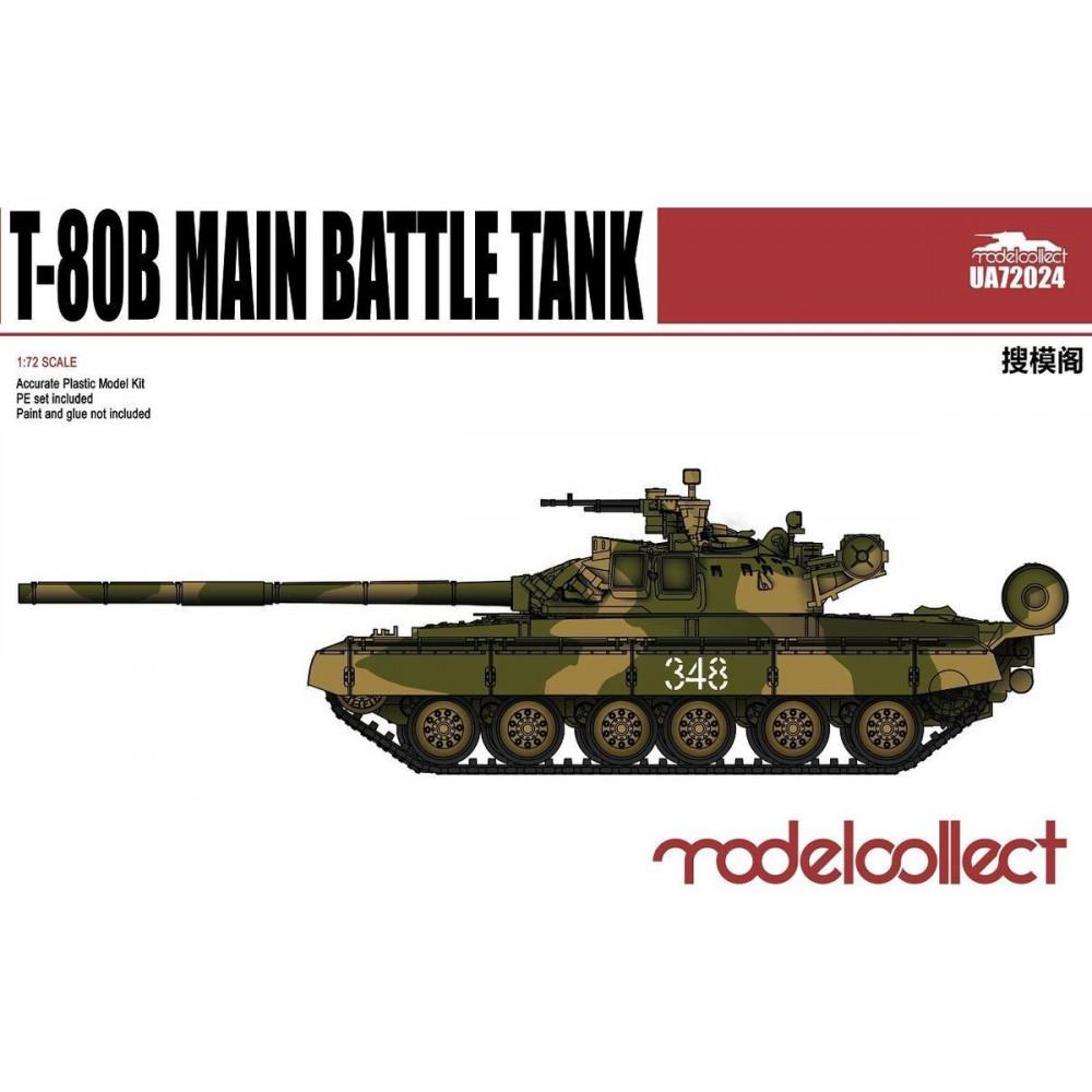 T-80B Main Battle Tank 1/72 Modelcollect  72024