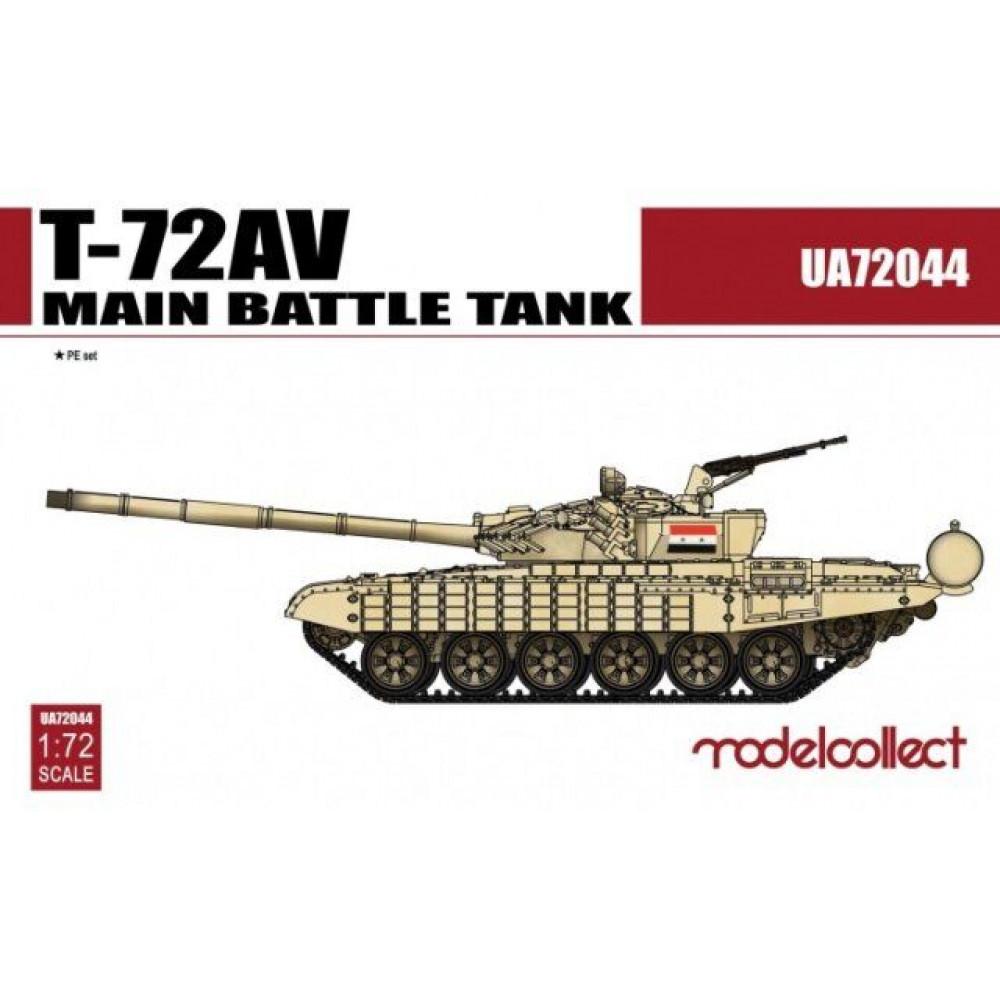 T-72AV Main Battle Tank1/72 Modelcollect  72044