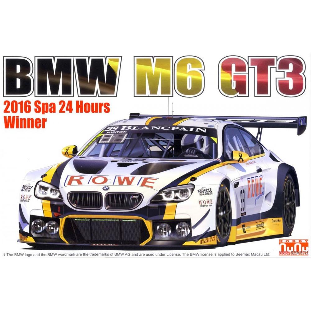 BMW M6 GT3 2016 Total Spa 24 Hourse Winner 1/24 NuNU PN24001