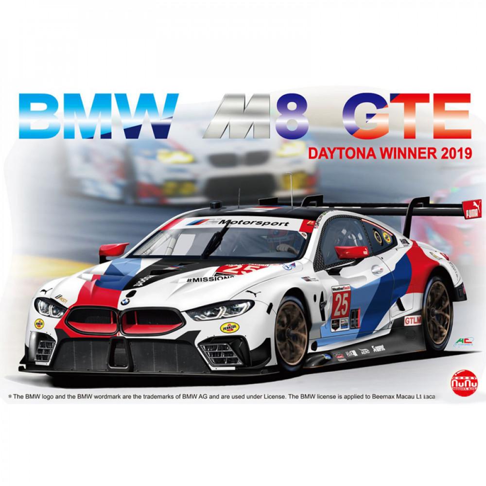 BMW M8 GTE Daytona Winner 2019 1/24 NuNU 24010