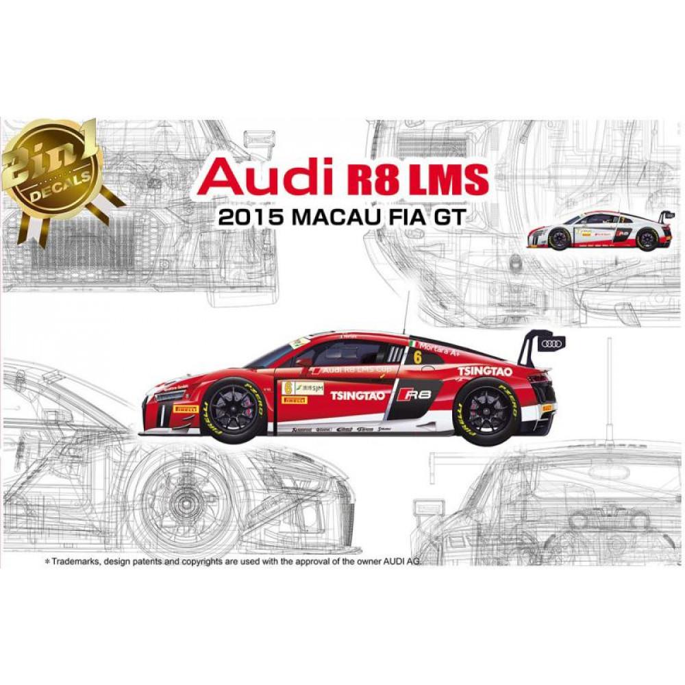 Audi R8 LMS 2015 Macau GT 1/24 NuNU 24024