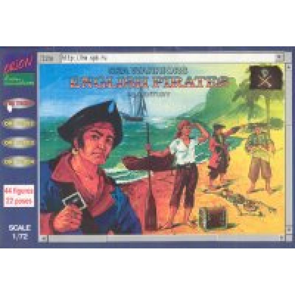 English Pirates   1/72 Orion 72001