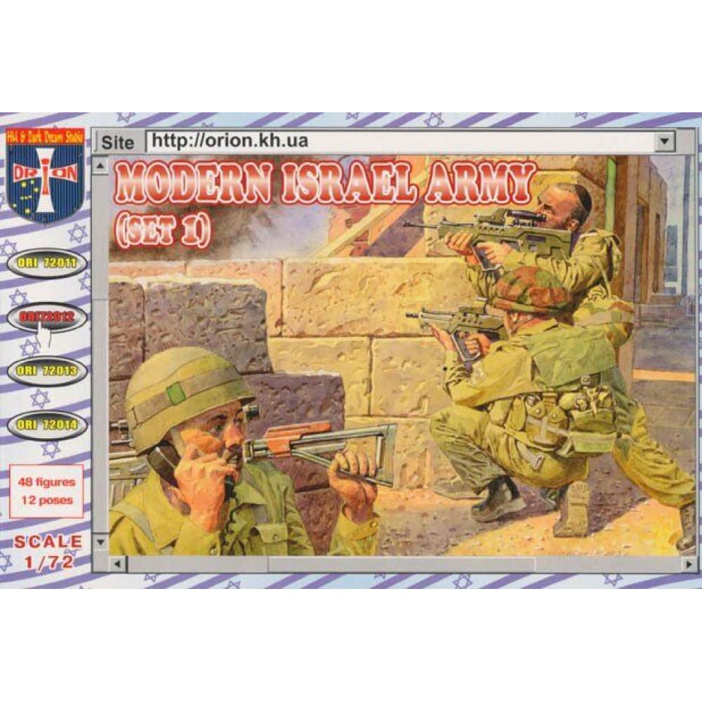 Modern Army  Israel  (set 1) 1/72 Orion 72012