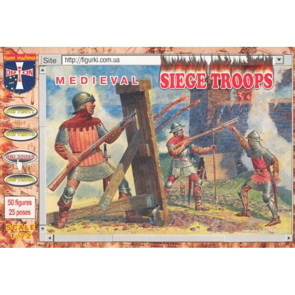 Medieval Siege Troops  1/72 Orion 72019