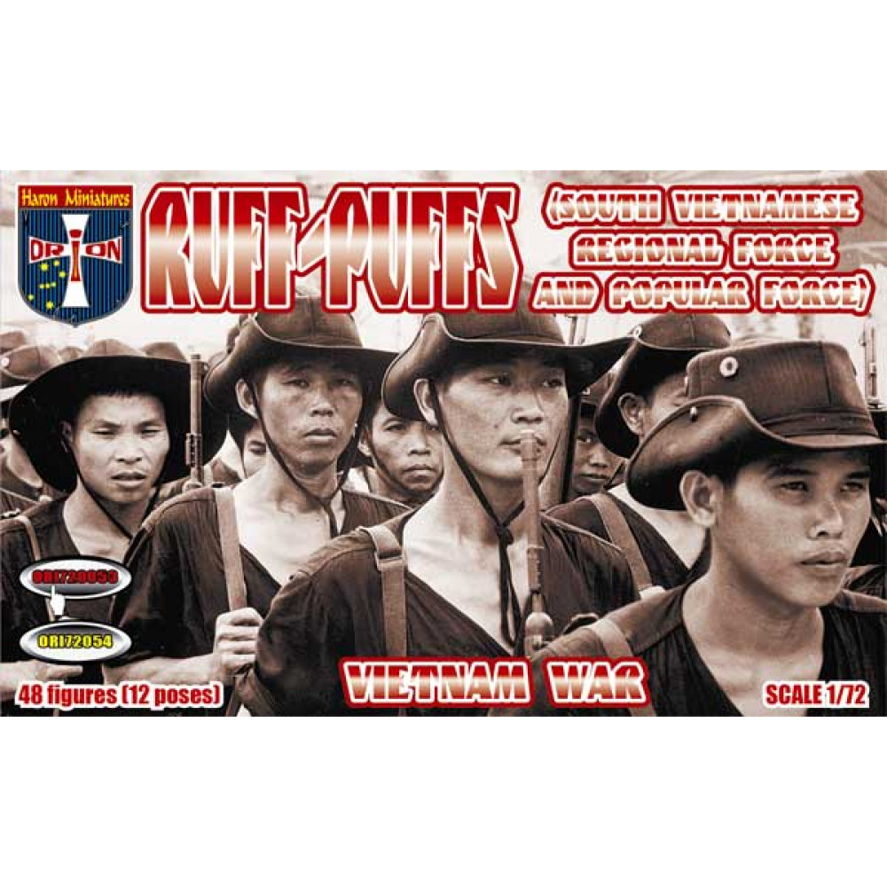 Ruff-Puffs (South Vietnamese Regional Force and Popular Force) 48 figures  1/72 Orion 72053