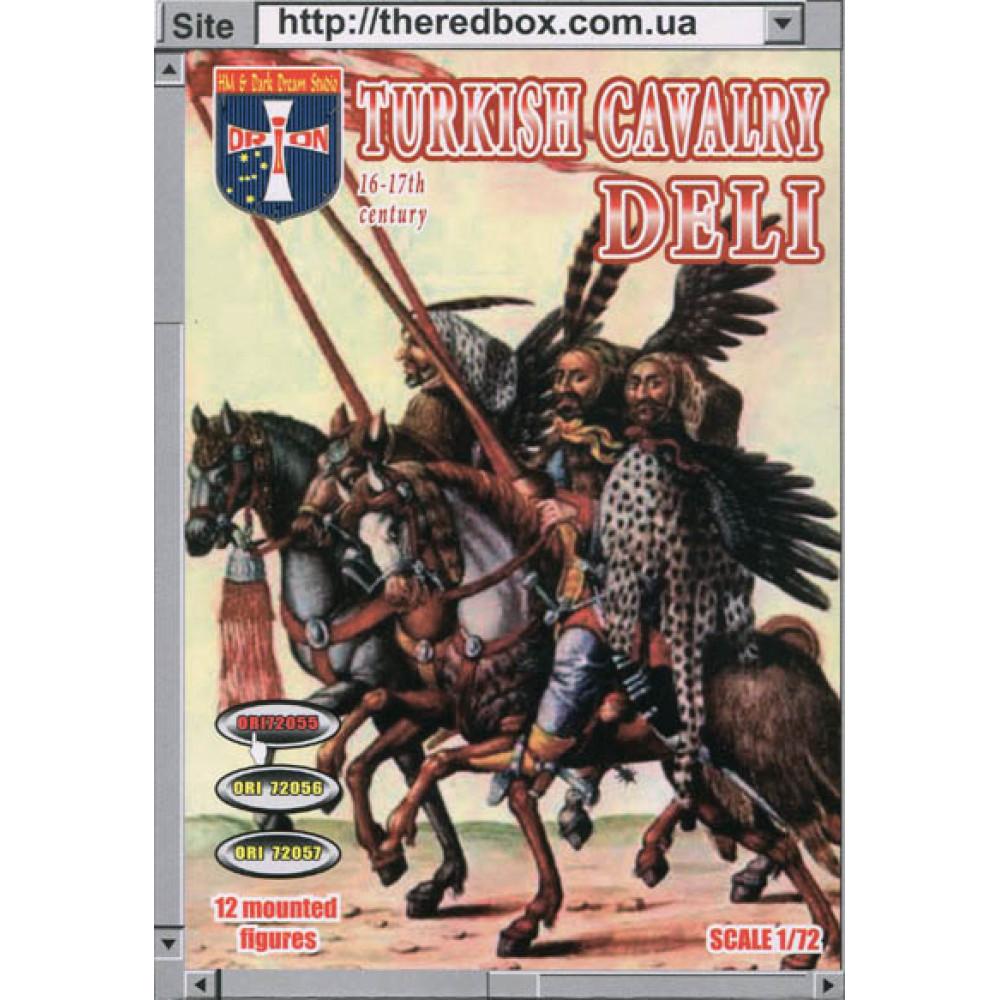 Turkish Cavalry (Deli) 16-17 cc  1/72 Orion 72055