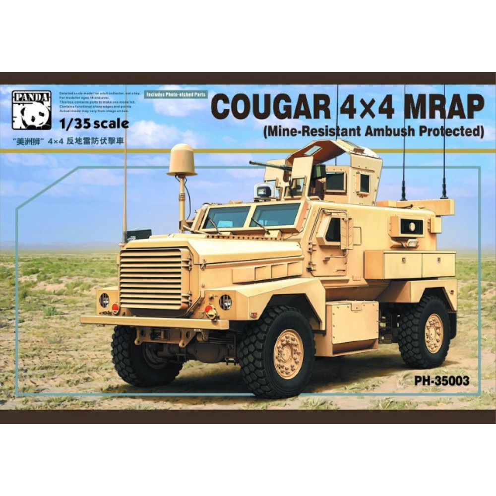 Cougar 4X4 MRAP   1/35 Panda  35003