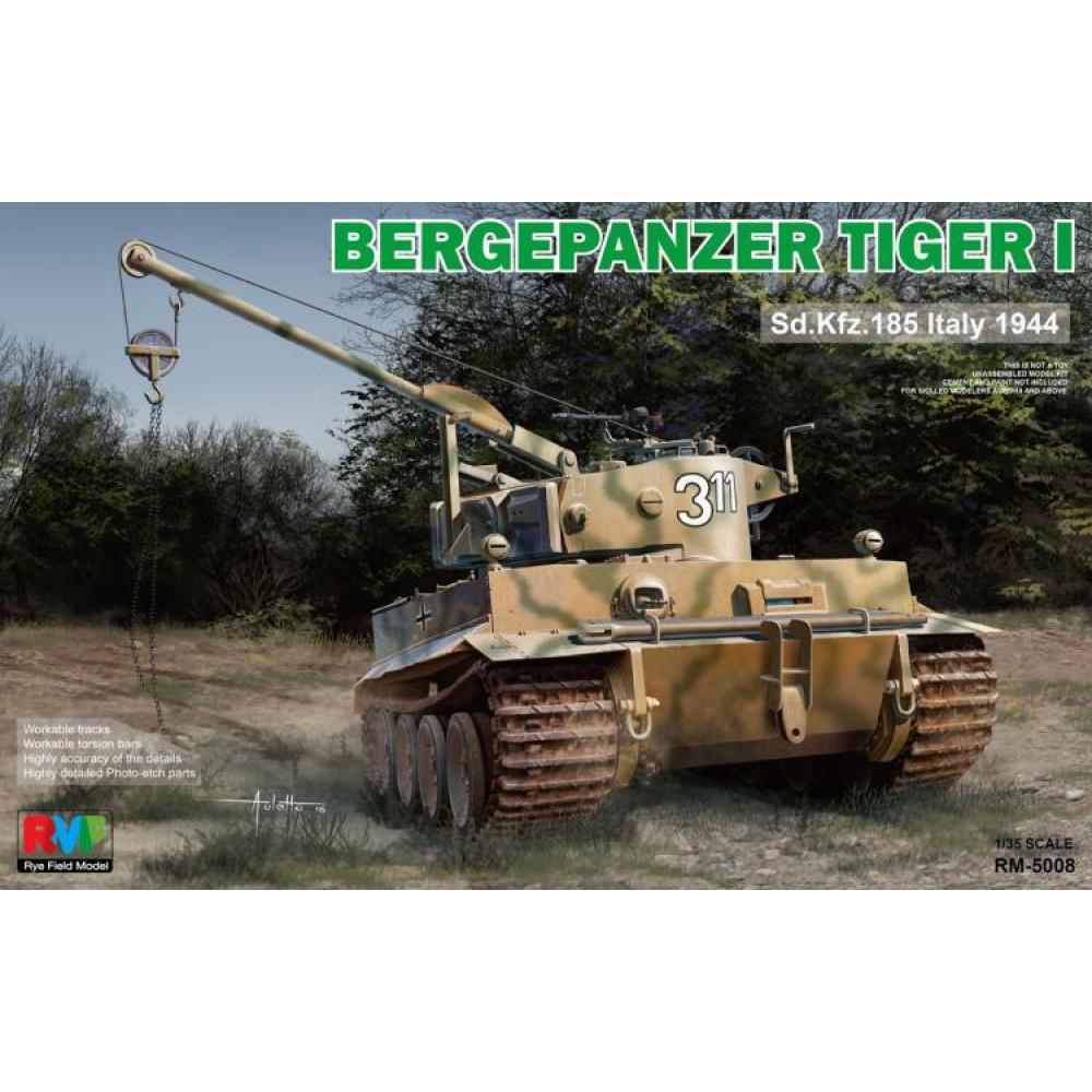 Bergepanzer Tiger I Sd.Kfz.185 Italy 1944   1/35 RFM  5008