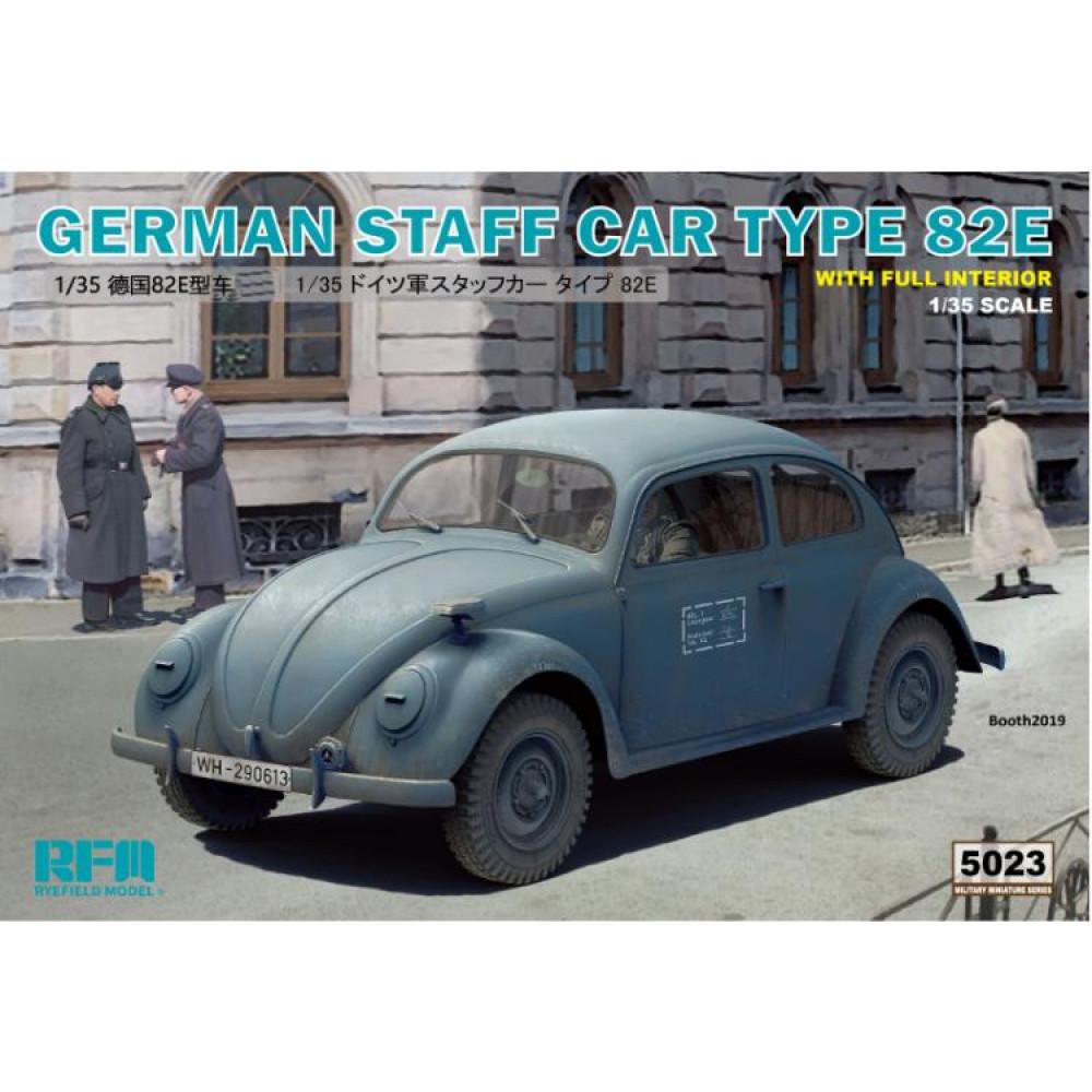 GERMAN STAFF CAR TYPE 82E 1/35 RFM  5023
