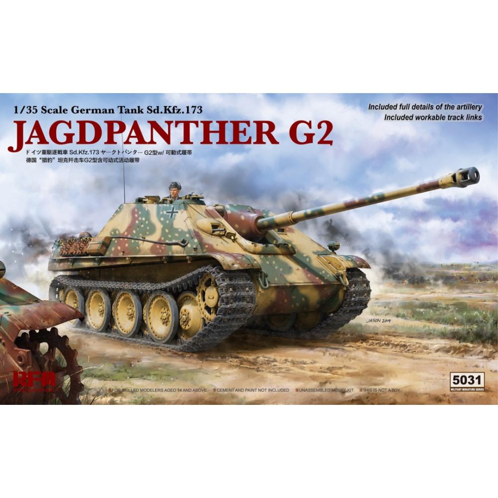 Sd.Kfz.173 Jagdpanther G2 1/35 RFM 5031