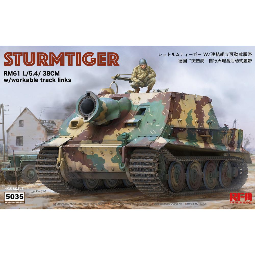 STURMTIGER Full inter of the turret 1/35 RFM  5035