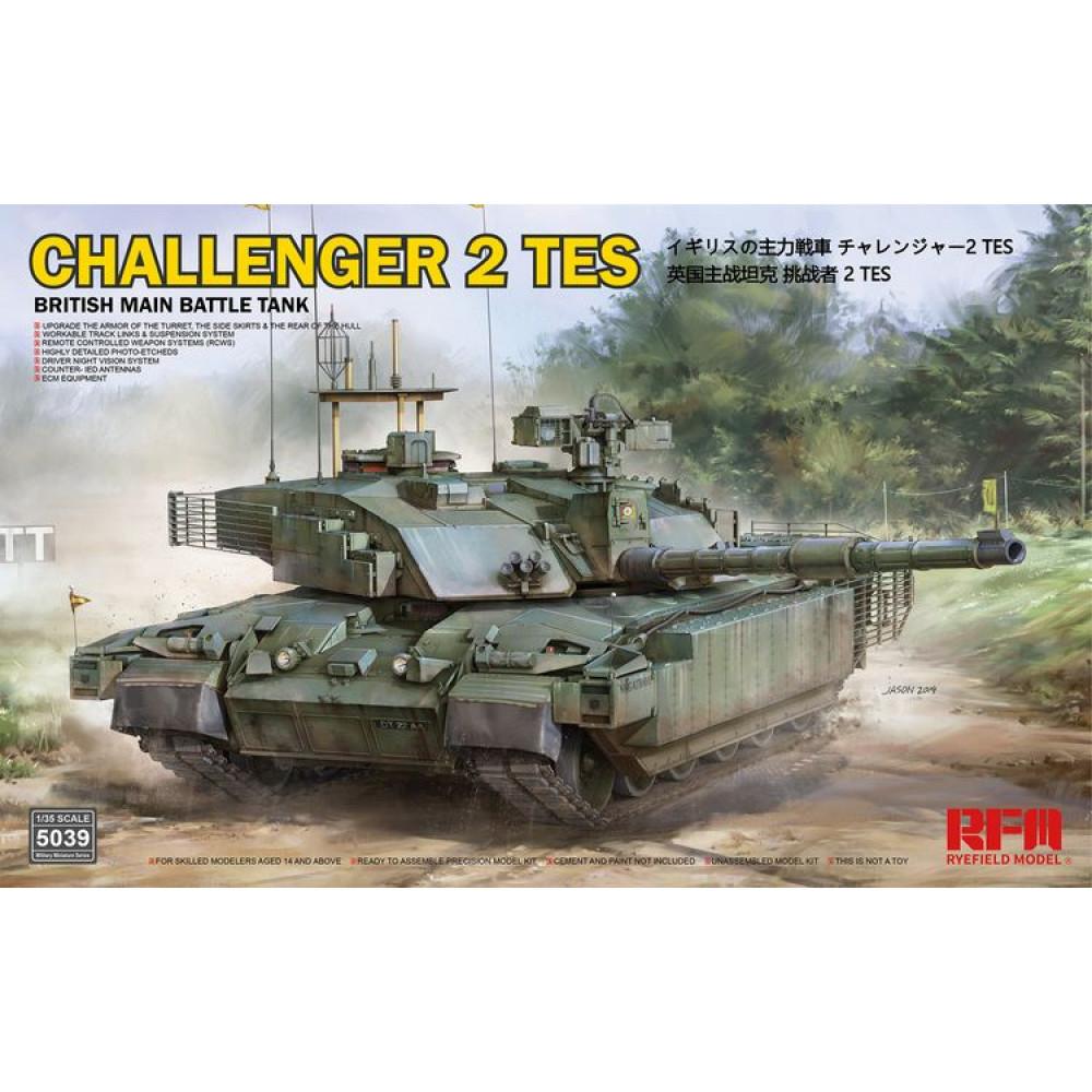 CHALLENGER 2 TES 1/35 RFM 5039