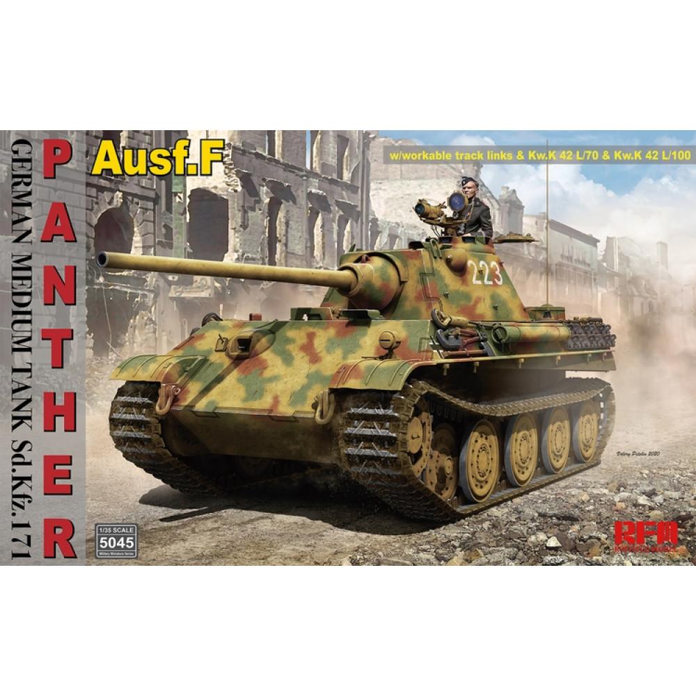 German tank Panther F Sd.Kfz.171 1/35 RFM 5045
