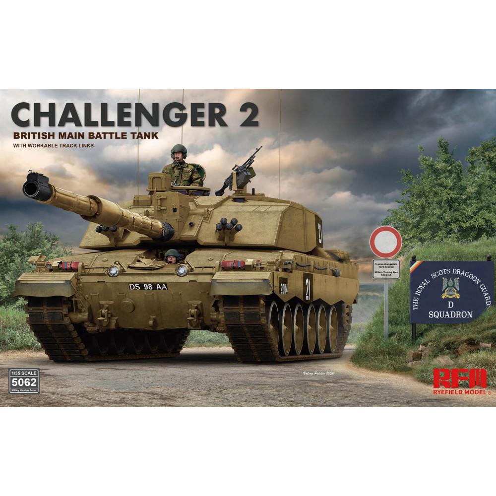 Challenger 2 british main battle tank 1/35 RFM 5062