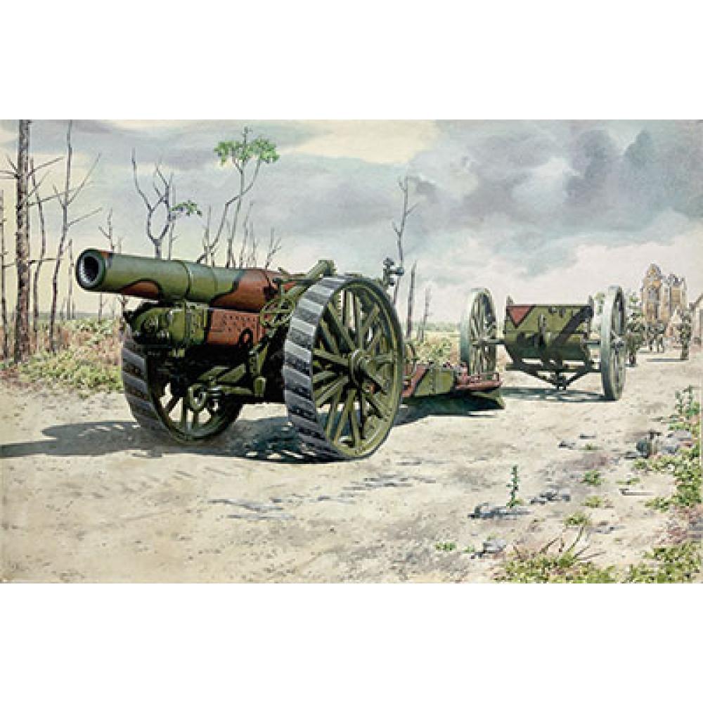 BL 8-inch howitzer Mk. VI 1/72 Roden 716