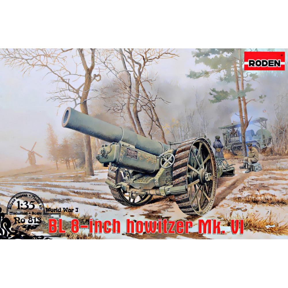 BL 8-inch howitzer Mk. VI 1/35 Roden RN813