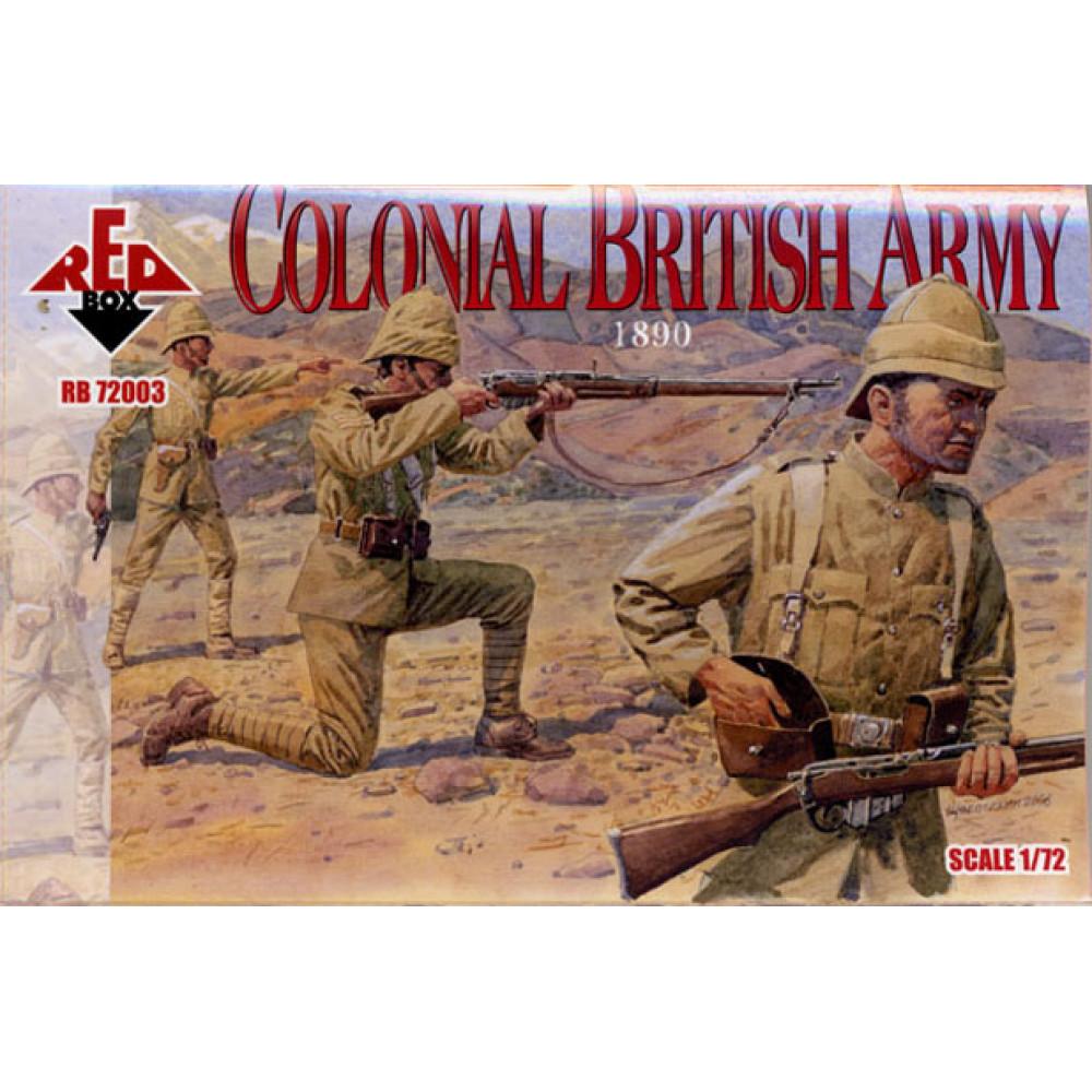 Colonial British Army 1890 1/72 RedBox 72003