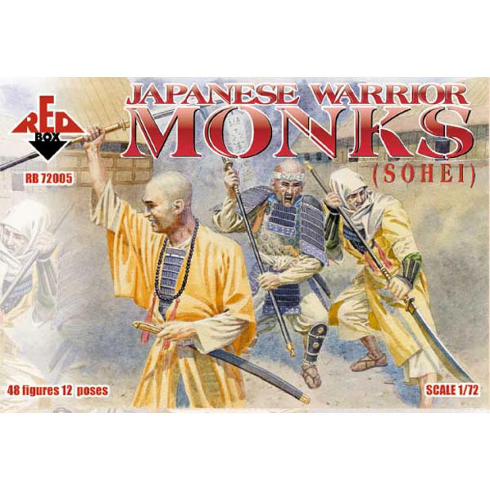 Japanese Warrior Monks. 1/72 RedBox 72005