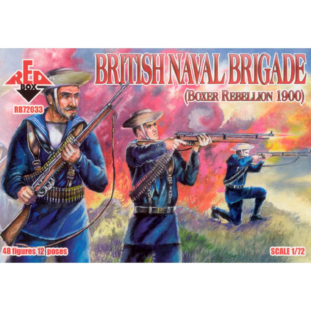British Naval Brigade 1900 (Boxer Rebellion)  1/72 RedBox 72033