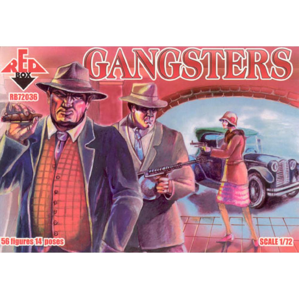 Gangsters    1/72 RedBox 72036