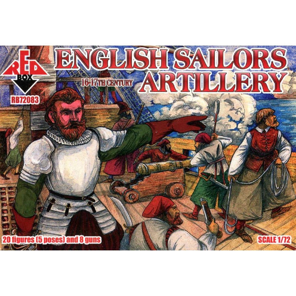 English Sailors Artillery  16-17 centry  1/72 RedBox 72083