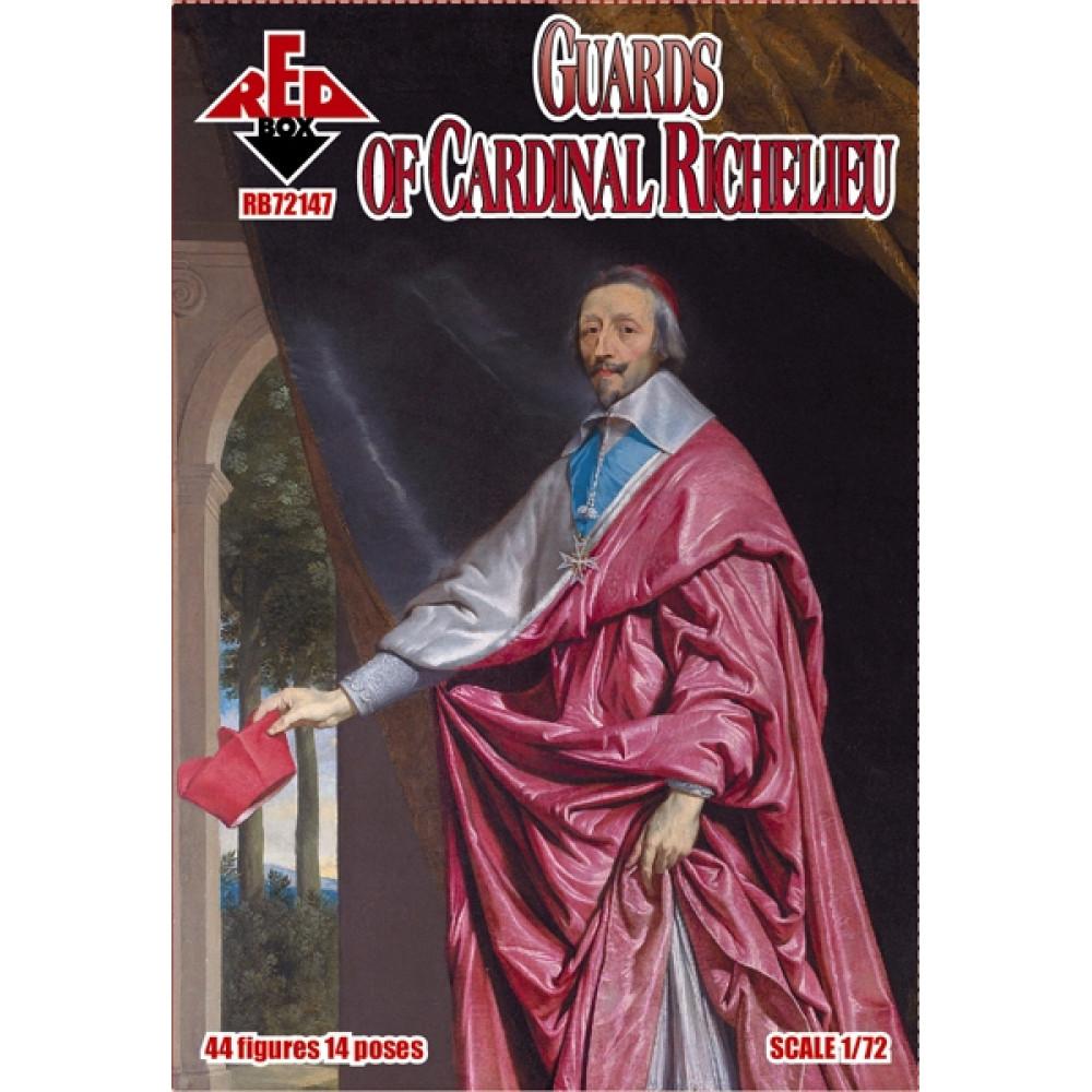 Guards of Cardinal Richelieu  (44 figures )  1/72 RedBox 72147