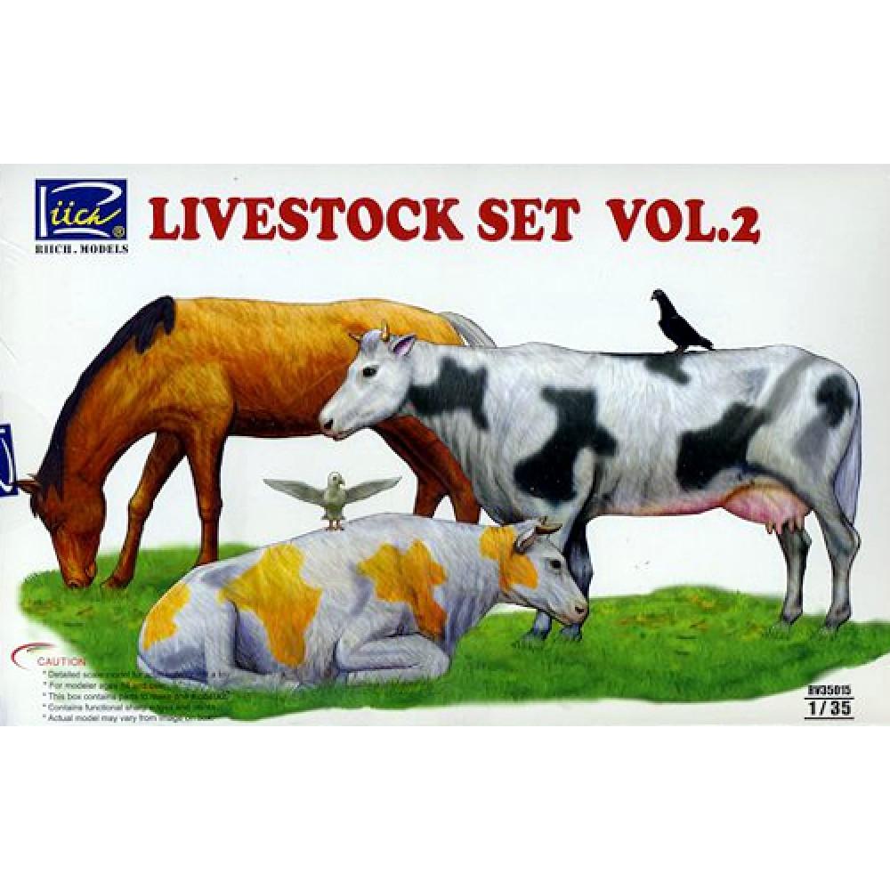 Livestock Set Vol.2 1/35 Riich Models 35015
