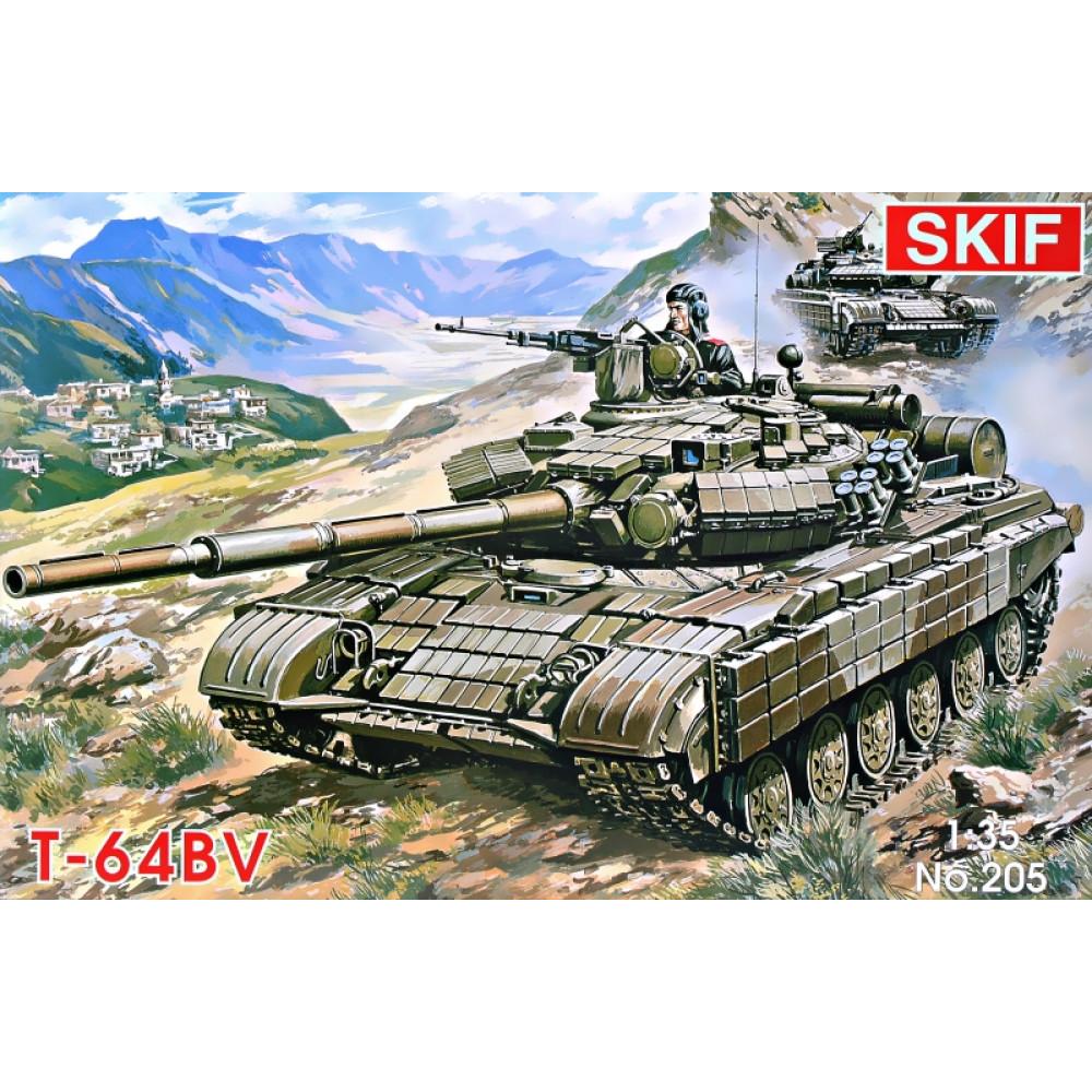 T-64BV  Soviet main battle tank 1/35 Skif mk205