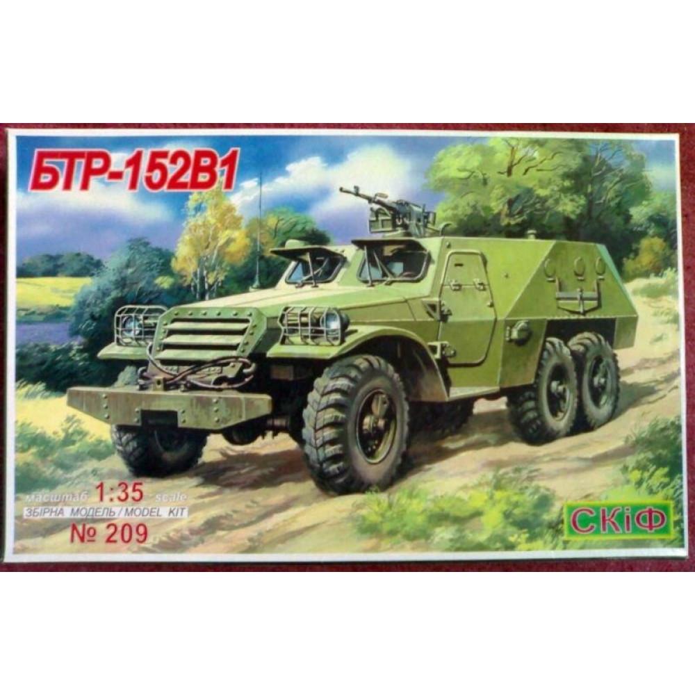BTR-152V1 armored troop-carrier 1/35 Skif mk209
