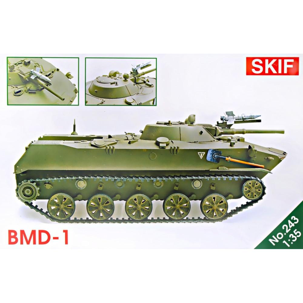 BMD-1 tank 1/35 Skif mk243