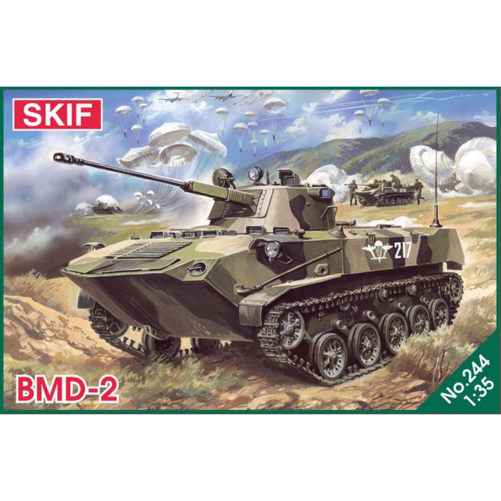 BMD-2 tank 1/35 Skif mk244