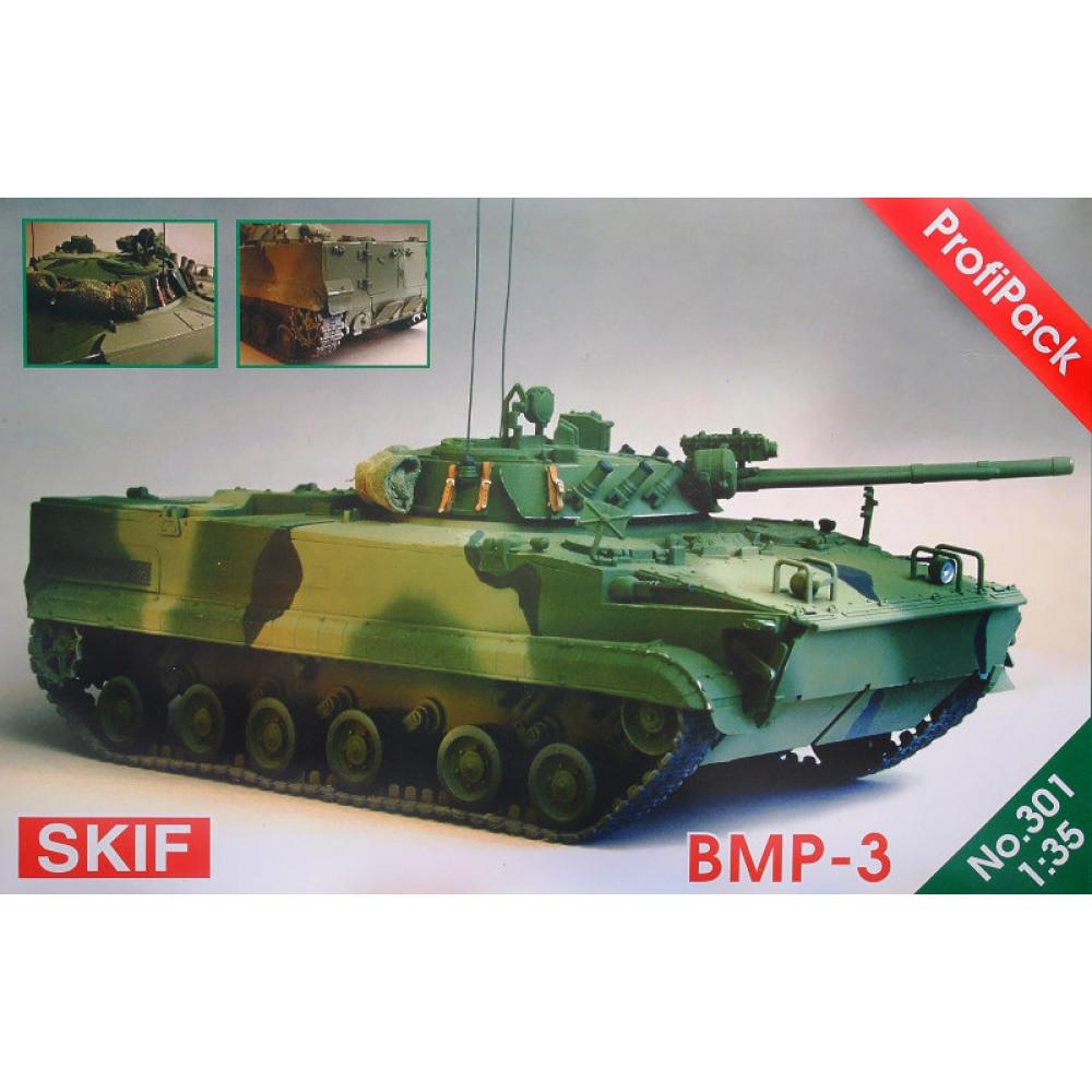 Infantry fighting vehicle BMP-3 1/35 Skif mk301