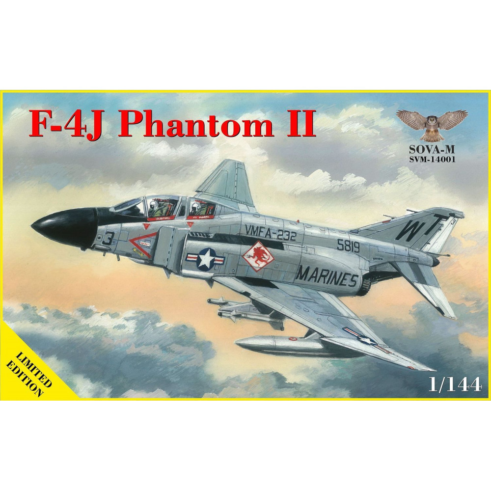 Fighter F-4J Phantom II 1/144 Sova-M 14001