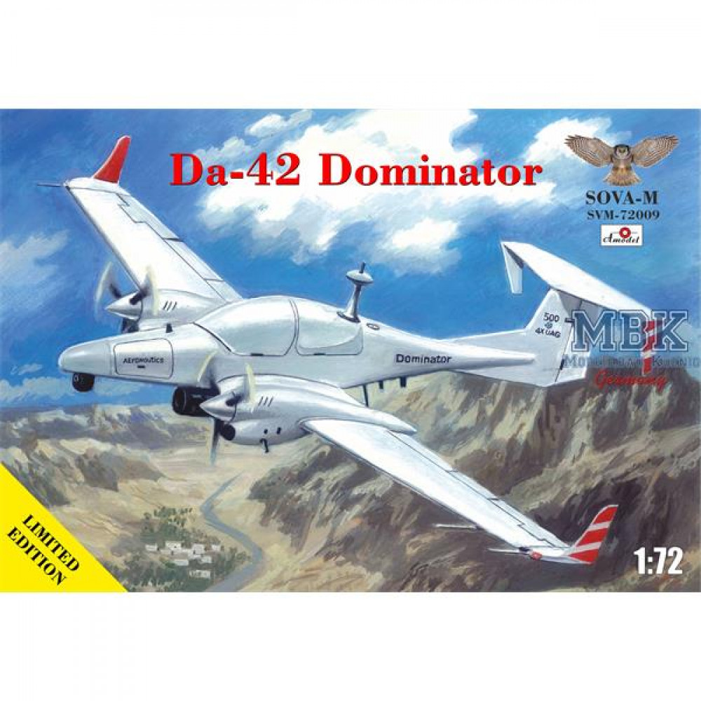 "Da-42 ""Dominator"" 1/72 Sova-M 72009"