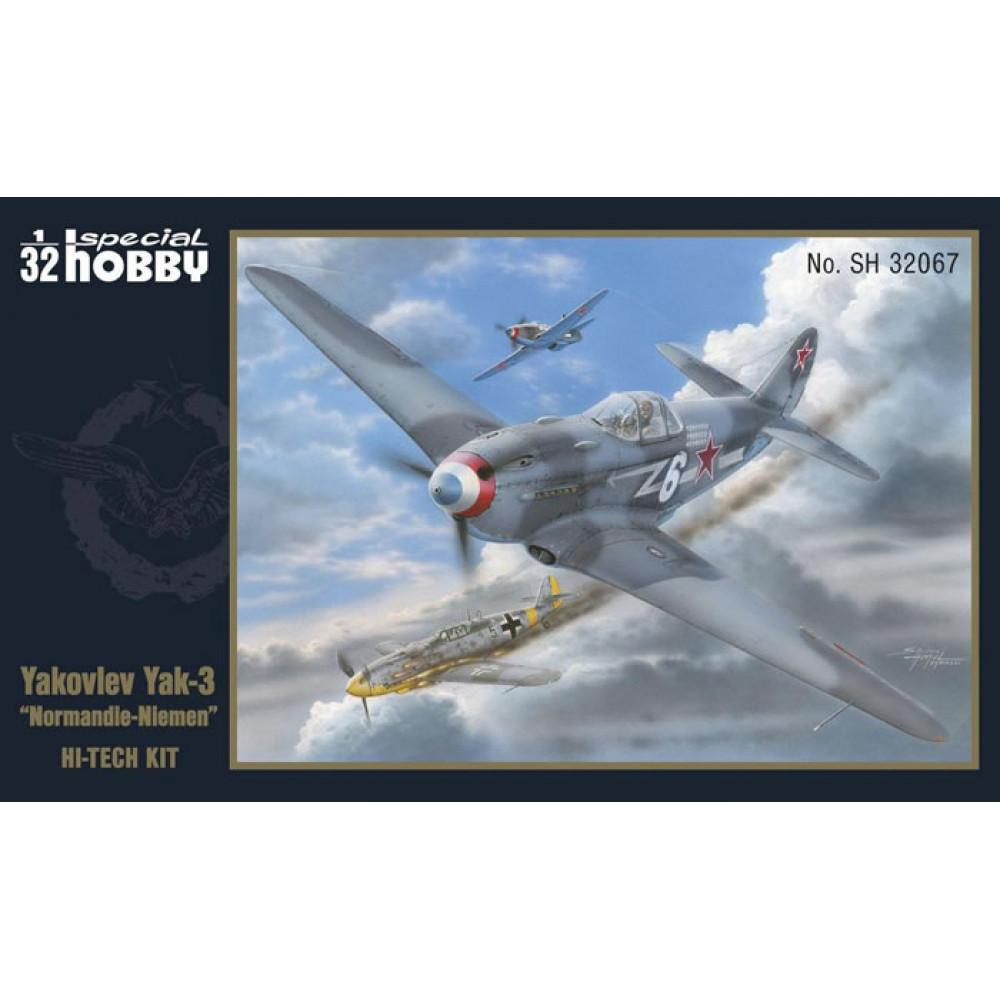 Jak-3 Normandia-Niemen (Hi-Tech)   1/32 Special Hobby 32067