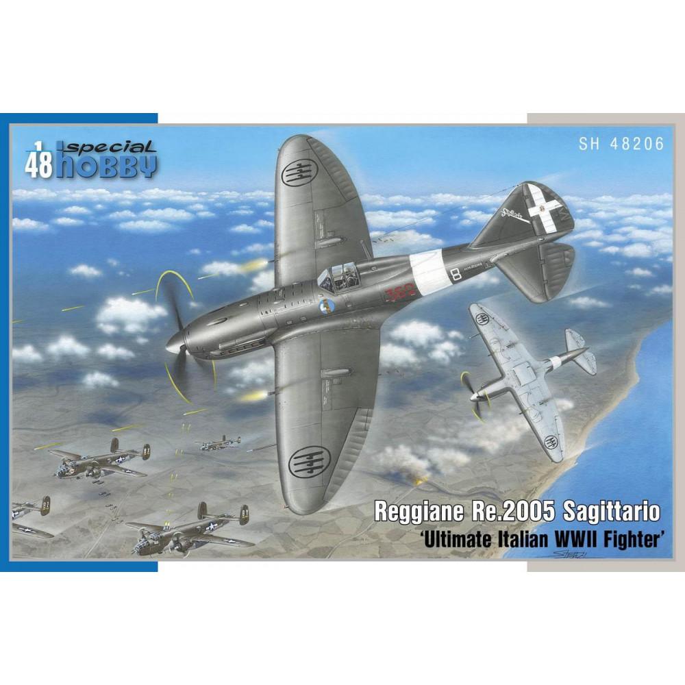 Reggiane Re.2005 Sagittario 'Ultimate Italian WWII Fighter' 1/48 Special Hobby 48206