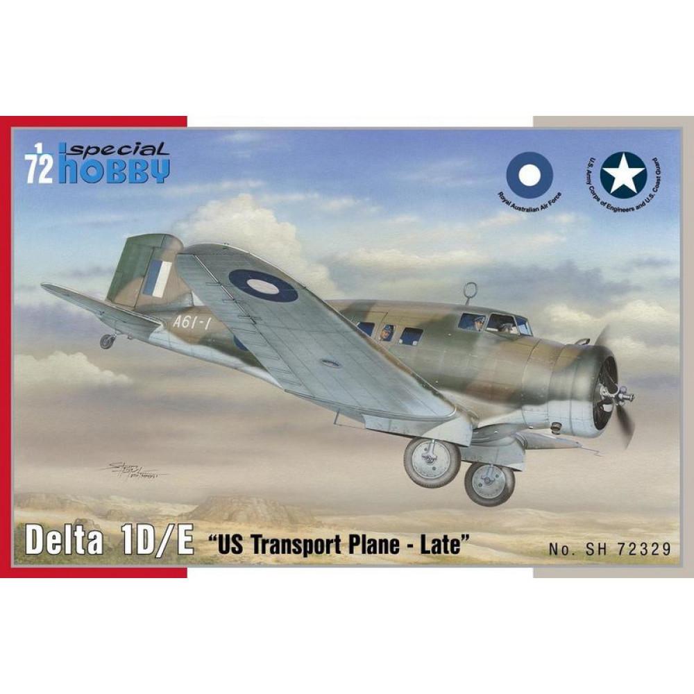 Delta 1D/ E US Transport plane 1/72 Special Hobby 72329