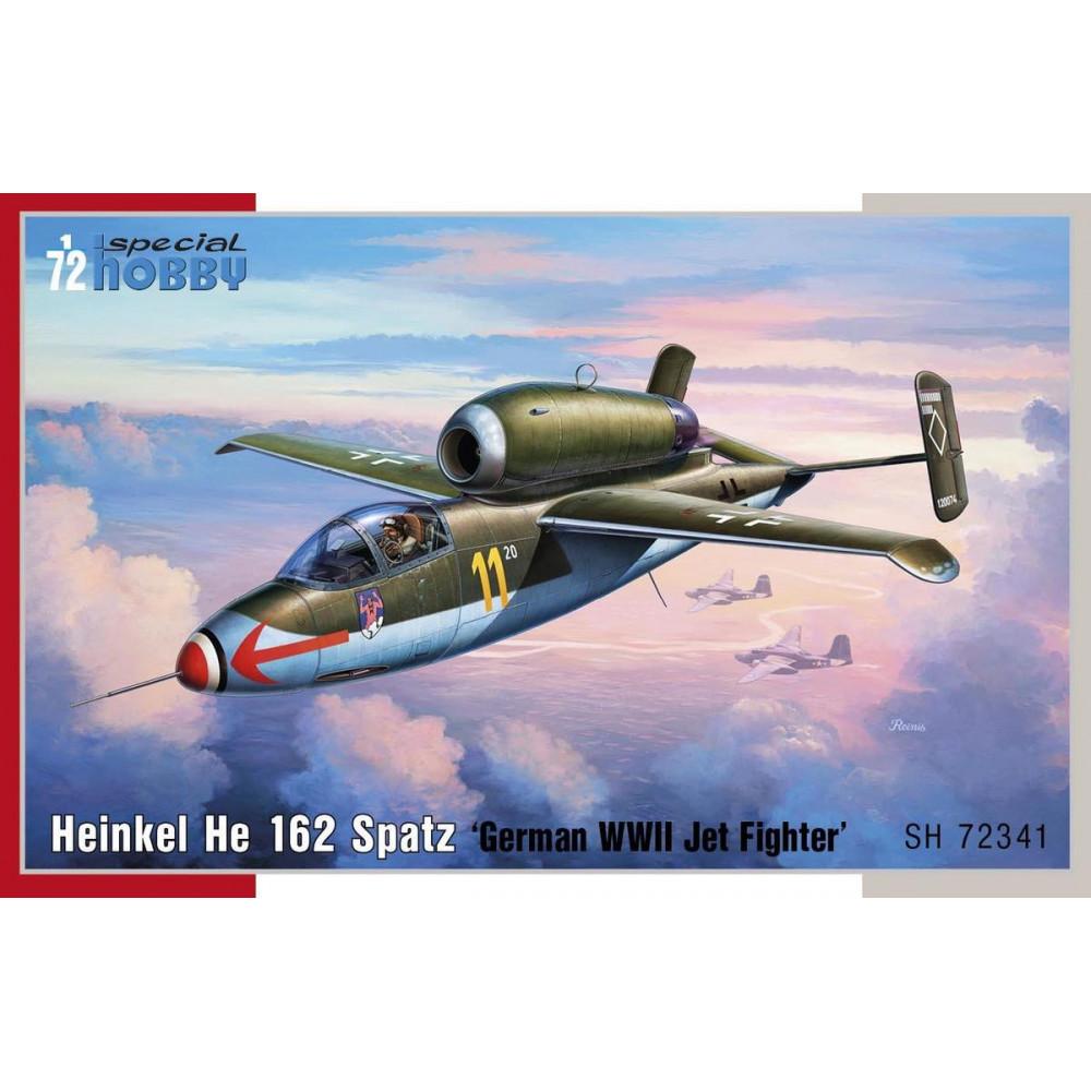 Heinkel He 162 Spatz 1/72 Special Hobby 72341