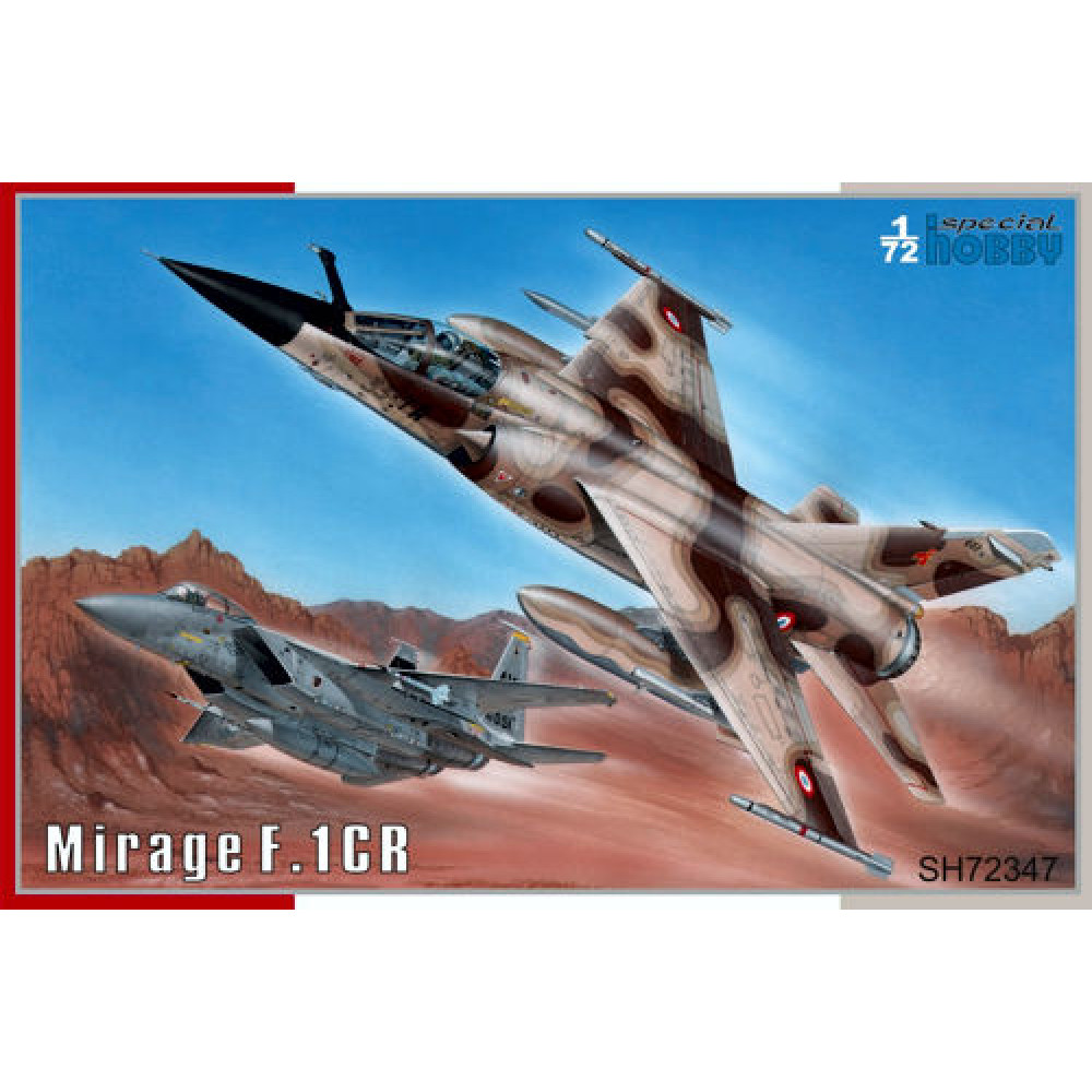 Mirage F.1CR   1/72 Special Hobby 72347